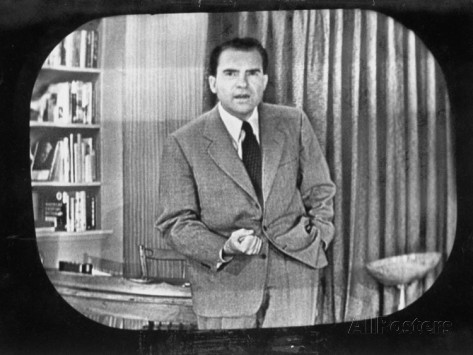 richard-m-nixon-making-famous-checkers-speech-on-television-during-the-fund-controversy